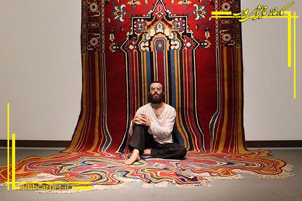 فرش ایرانی عجیب و غریب میشود!