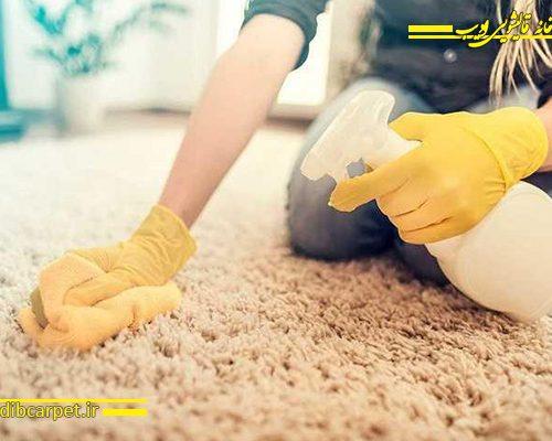 خطرات شامپو فرش