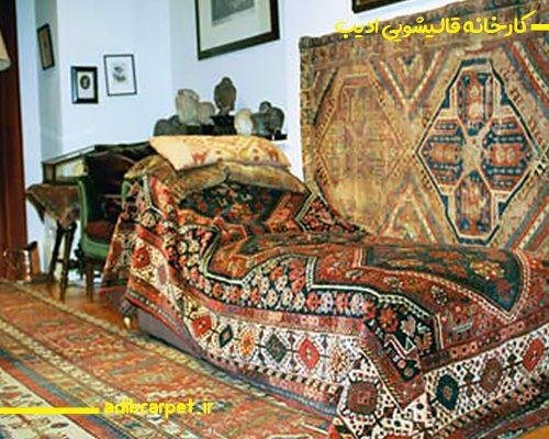 فرش ایرانی در خانه زیگموند فروید