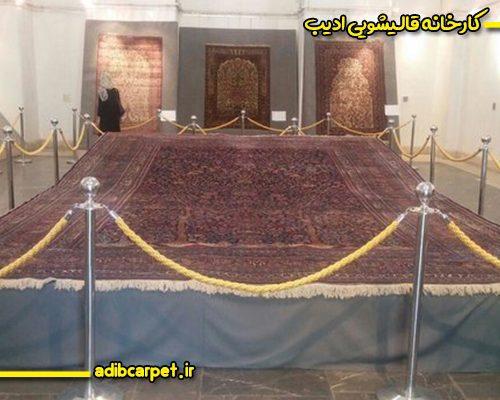 فرش های باغی قاجاری در کاخ گلستان