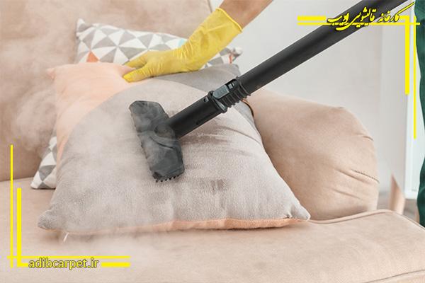 خشکشویی مبلمان با بخارشو