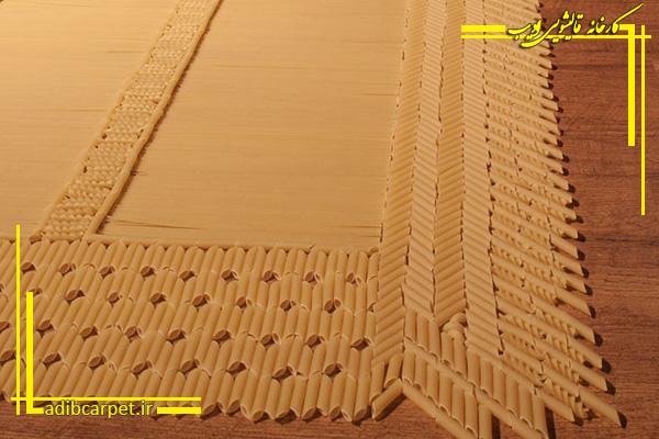 فرشهایی عجیب از جنس ماکارونی و آجر در هلند