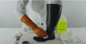 shoe polish-پاک -کردن-لکه-واکس-کفش-قالیشویی-ادیب