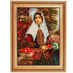 زنان-در-فرش-قشقایی-قالیشویی