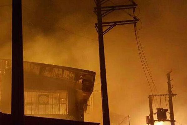 آتشسوزی-انبار-مبل-قالیشویی-ادیب