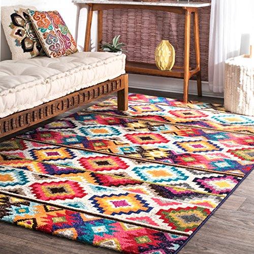 زیباترین-فرش-رنگی