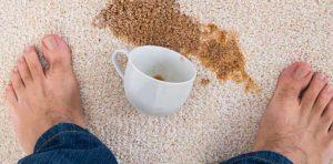 شستن-لکه-قهوه-از-فرش