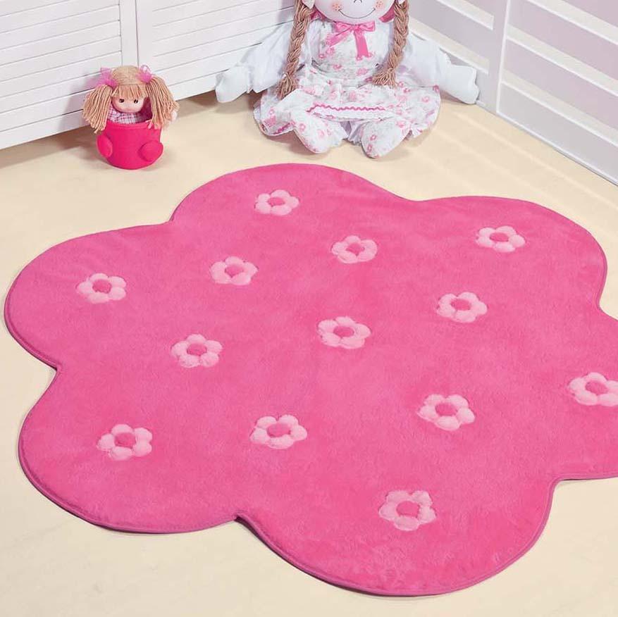 فرش-کودک-صورتی