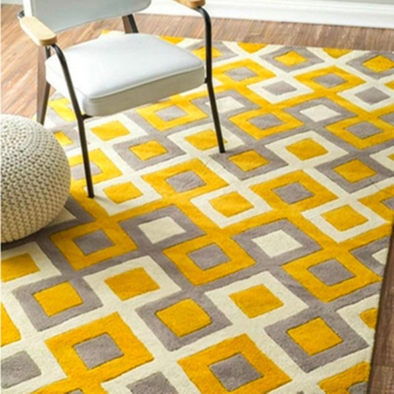 فرش-تم-زرد