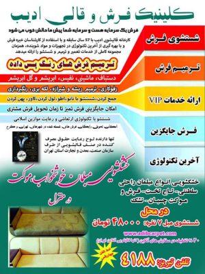 قالیشویی-ادیب-تبریز