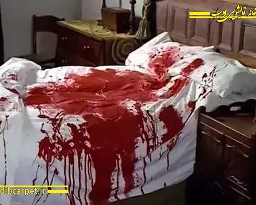 پاک کردن لکه خون از تشک