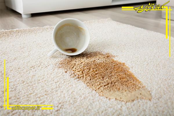 چکونه لکه چای را پاک کنیم؟