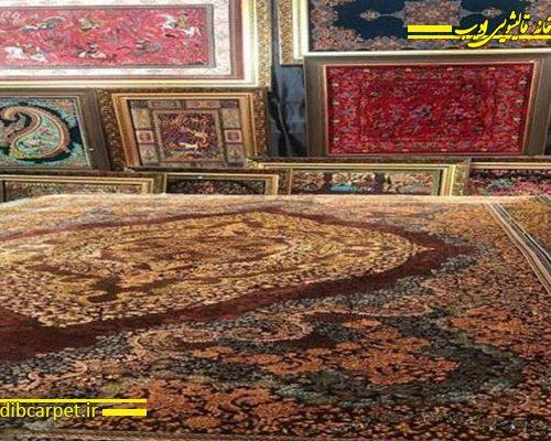 بازار ۲۰۰ ساله فرش در اطراف حرم امام رضا (ع)