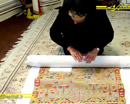 فرش های دوره صفوی موزه آستان مقدس