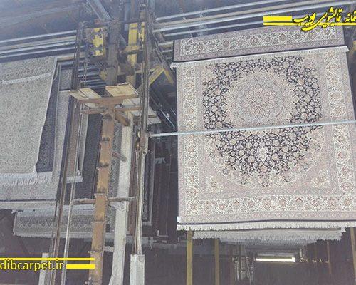 گرمخانه, سالن خشک کردن, قالیشویی,قالی شویی,قالیشویی آنلاین,شستشوی فرش,کارخانه قالیشویی ادیب,قالیشویی ادیب,قالیشویی مجاز